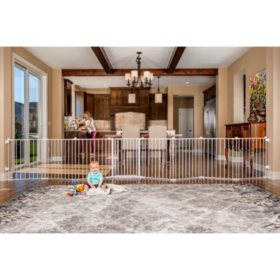 Regalo 8-Panel Super Wide Baby Gate and Play Yard