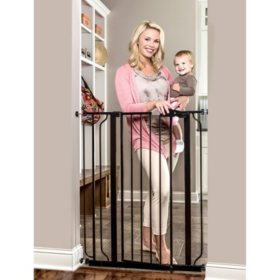 "Regalo Easy Step Extra Tall Baby Gate, 29"" - 36.5"" (Choose Your Color)"
