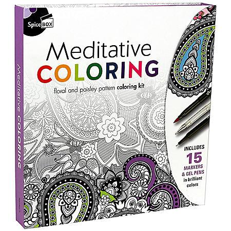 Meditative Coloring (Sketch Plus)