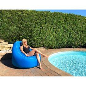 Phenomenal Inflatable Lounge Chair Sams Club Machost Co Dining Chair Design Ideas Machostcouk