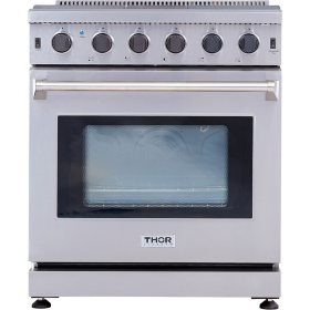 "Thor Kitchen 30"" Freestanding Gas Range with Convection"