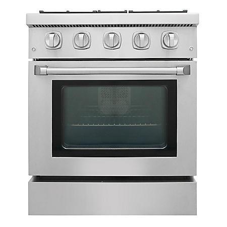 "Thor Kitchen Premium Series 30"" Freestanding Gas Range With Convection"