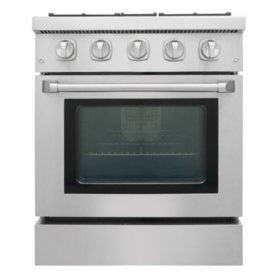 "Thor Kitchen Premium Series 30"" Freestanding Gas Range With Convection"
