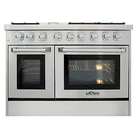 "Thor Kitchen Premium Series 48"" Freestanding Gas Range With Convection"