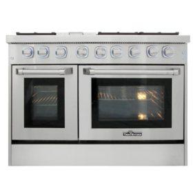 "Thor Kitchen Premium Series 48"" Freestanding Gas Range With Convection"