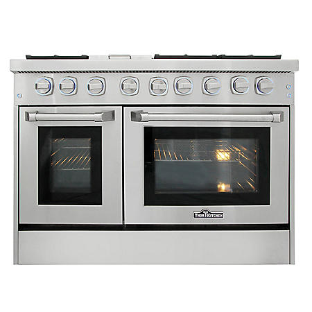 "Thor Kitchen Premium Series 48"" Freestanding Dual Fuel Range With Convection"