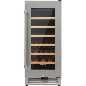 "Thor Kitchen 15"" 33-Bottle Single Zone Wine Cooler"
