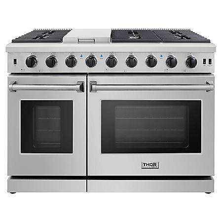 "Thor Kitchen 48"" Freestanding Gas Range with Convection"