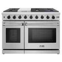 """Thor Kitchen 48"""" Freestanding Gas Range with Convection"""