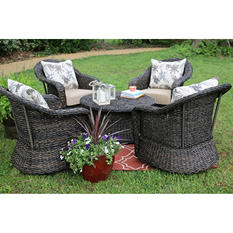 Beltline 5-piece Deep Seating Set