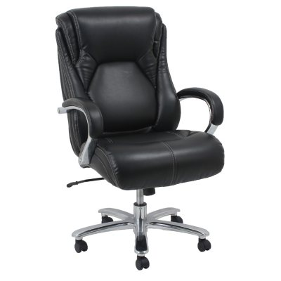 Barcalounger Big U0026 Tall Executive Office Chair, Black (Supports Up To 500  Lbs.
