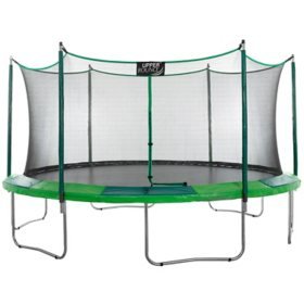 Upper Bounce 15' Trampoline & Enclosure Set