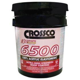 Crossco 6500 Acrylic Elastomeric - 5 gal.