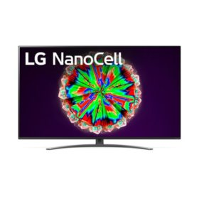 "LG 65"" Class 4K NanoCell Smart UHD TV w/ AI ThinQ - 65NANO81ANA"