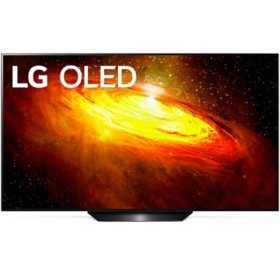 "LG 55"" Class 4K Ultra HD OLED Smart TV w/ AI ThinQ - OLED55BXAUA"