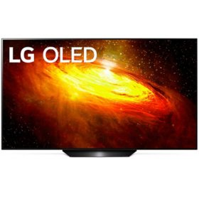 "LG 65"" Class 4K Ultra HD OLED Smart TV w/ AI ThinQ - OLED65BXAUA"
