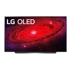 "LG 55"" Class 4K Ultra HD Smart OLED TV w/ AI ThinQ - OLED55CXAUA"