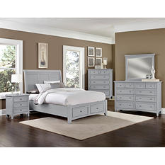 Hamilton Bedroom Furniture Set with Storage Sleigh Bed