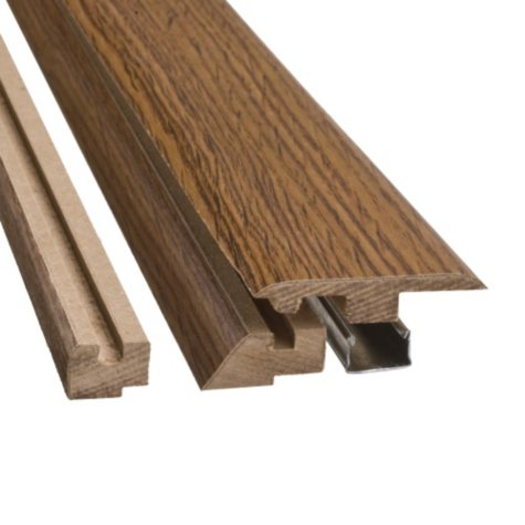 "SimpleSolutions™ Four-in-One Molding - Heirloom Oak - 78.75"" Long"