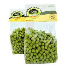 Fresh Shelled English Peas (10 oz. bags, 2 ct.)