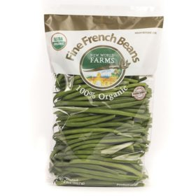 Organic French Green Beans (2 lbs.)