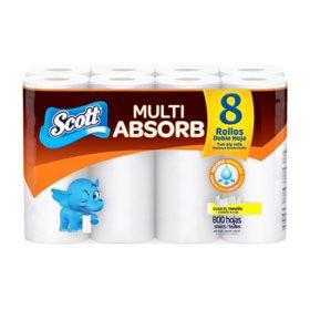 Scott Multipurpose Paper Towels (8 ct., 100 sheets)