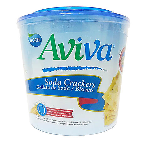 Aviva Soda Crackers (26pks/27.5oz)