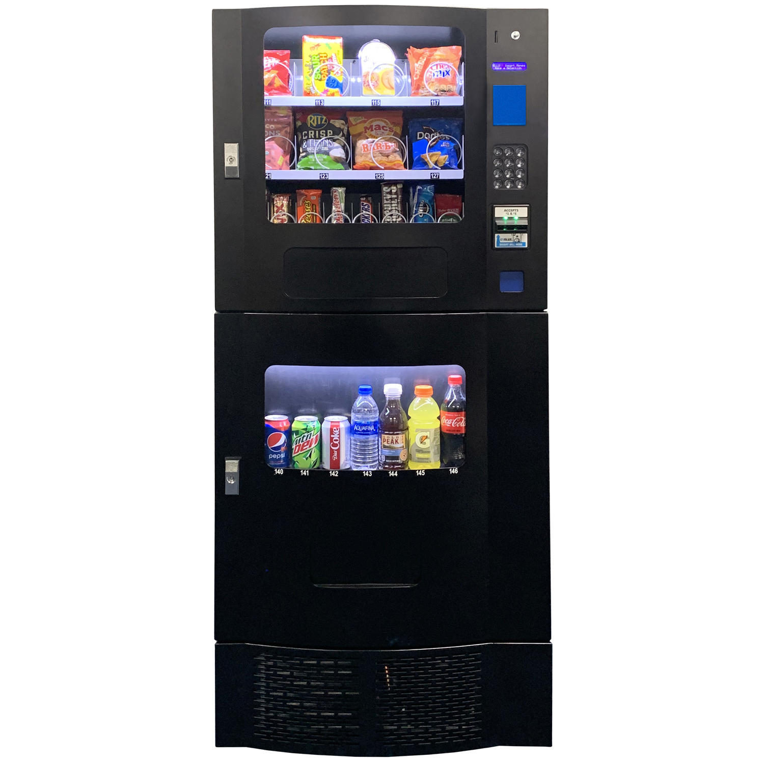 Seaga Compact Combination Vending Machine