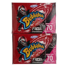 Bubbaloo Strawberry 2 pk.