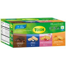 Tosh Assorted Sandwich Cookies (24 pk.)