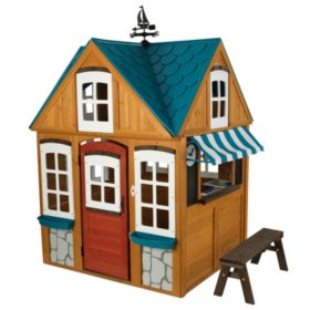 Seaside Cottage Outdoor Playhouse