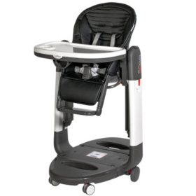 Peg Perego Tatamia High Chair, Stripes Black