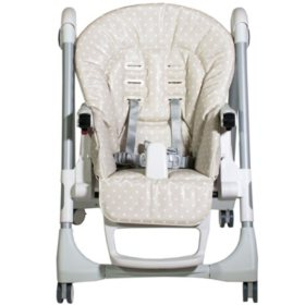 Peg Perego Prima Pappa High Chair, Babydot Beige