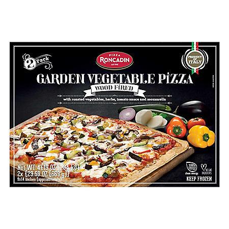Roncadin Garden Vegetable Pizza, Frozen (2 ct.)