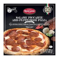 Roncadin Salame Piccante and Pepperoni Pizza, Frozen (2 pk.)