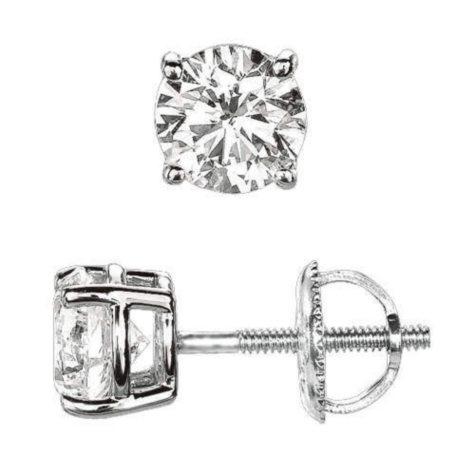 .23 ct. t.w. Round-Cut Diamond Earrings (I, SI2)