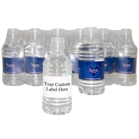 Custom Labeled Natural Spring Water Pallet (16.9 oz. bottles) Choose 1, 5, 10 or 20 Pallets