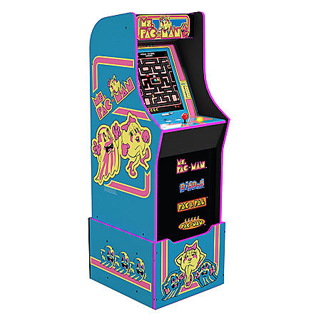 Ms. Pac-Man with Riser