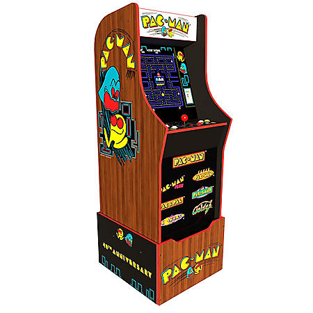 Pac-Man 40th Anniversary Edition Arcade with Riser