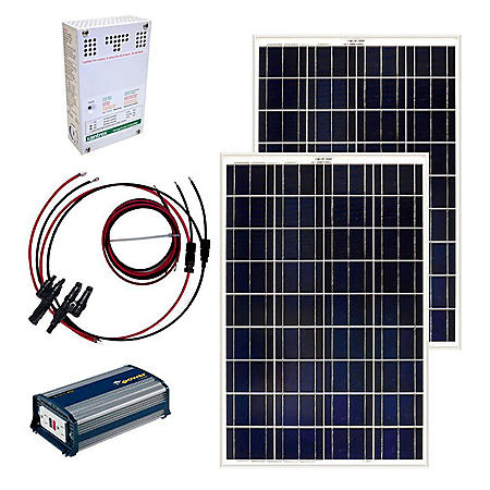 Grape Solar 200-Watt Off-Grid Solar Panel Kit