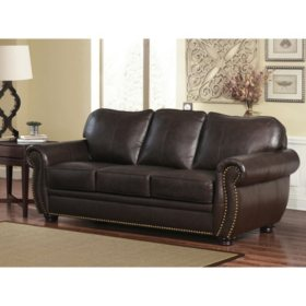 Marvelous Sophie Top Grain Leather Sofa Loveseat And Armchair Set Caraccident5 Cool Chair Designs And Ideas Caraccident5Info