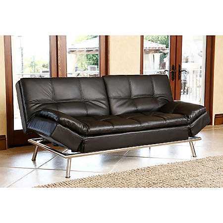 Chelsea Leather Convertible Sofa - Sam\'s Club