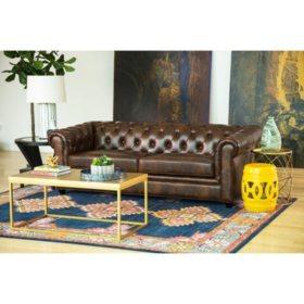 Natali Top-Grain Leather Sofa