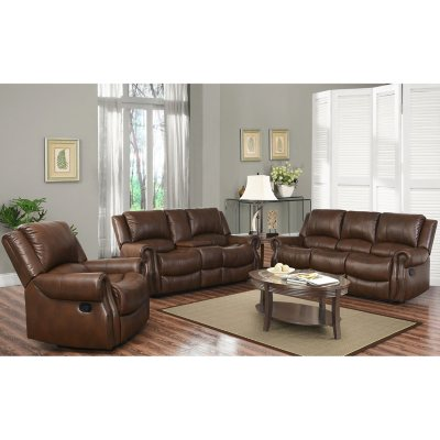 Harvest Reclining Sofa Loveseat and Chair Set  sc 1 st  Sam\u0027s Club : living room sets - amorenlinea.org