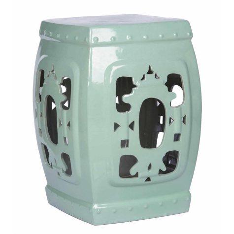 Asian Ceramic Stool (Assorted Colors)