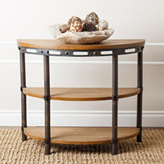 Atwood Industrial Console Table