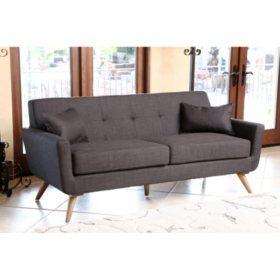 Porter Tufted Sofa (Assorted Colors)