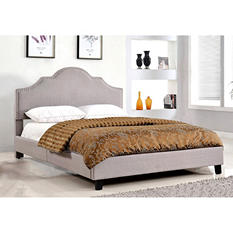 Madison Upholstered Platform Bed, Queen