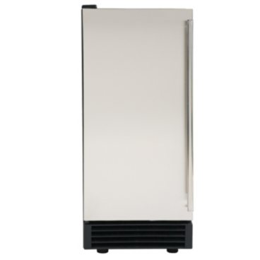 Maxx Ice Freestanding Icemaker in Stainless Steel and Black (50 lb.)