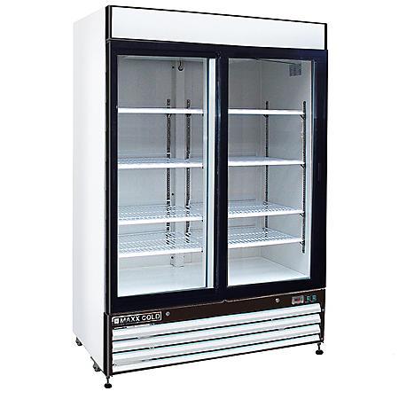 Maxx Cold X-Series Double Door Merchandiser Refrigerator (48 cu. ft.)